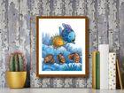 The Rainbow Fish IV plakat obraz 40x50cm (3)