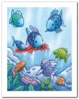 The Rainbow Fish V plakat obraz 40x50cm (1)