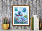 The Rainbow Fish V plakat obraz 40x50cm (3)