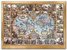 Magna Carta Mundi plakat obraz 80x60cm
