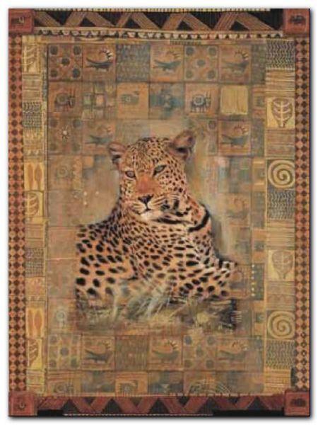 Leopard plakat obraz 60x80cm (1)