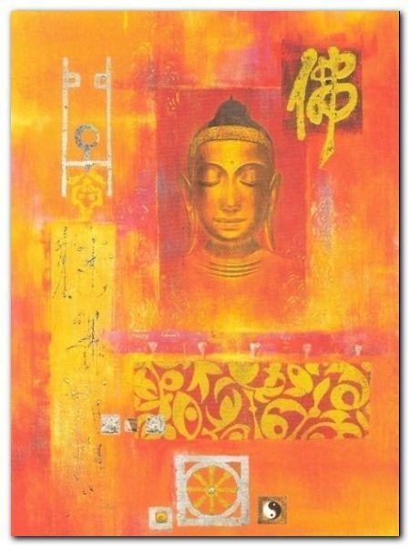 Contemplation plakat obraz 60x80cm (1)