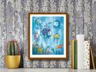 The Rainbow Fish plakat obraz 24x30cm (3)