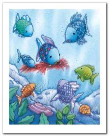 The Rainbow Fish V plakat obraz 24x30cm