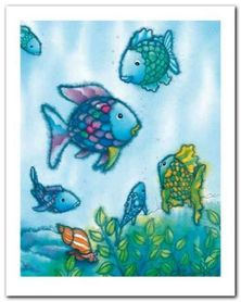 The Rainbow Fish VI plakat obraz 24x30cm