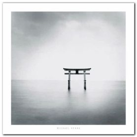 Torii Miya-Jima plakat obraz 70x70cm