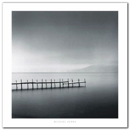 Foggy Morning plakat obraz 70x70cm (1)