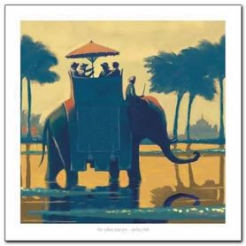 Indian Journey plakat obraz 70x70cm