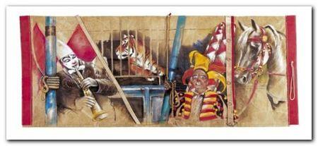 Circus Circus plakat obraz 50x23cm (1)
