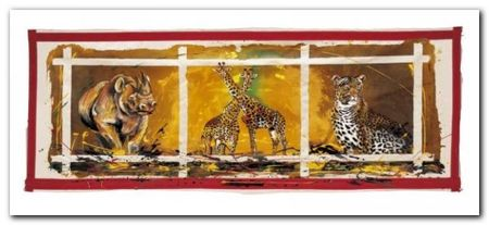 In The Wild plakat obraz 50x23cm (1)