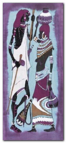 Lobatse I plakat obraz 23x50cm (1)