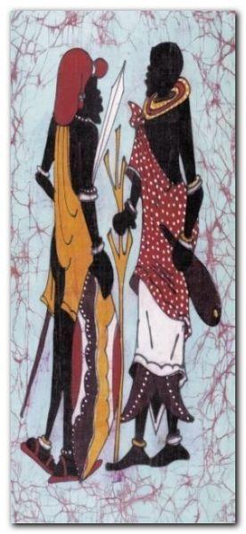 Lobatse II plakat obraz 23x50cm (1)