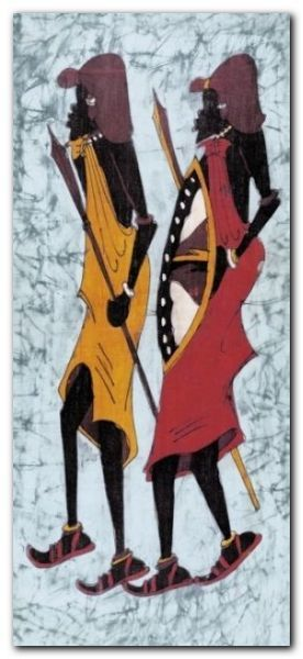 Lobatse III plakat obraz 23x50cm