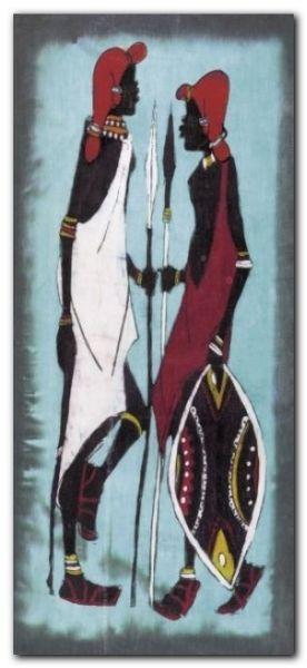 Lobatse IV plakat obraz 23x50cm (1)