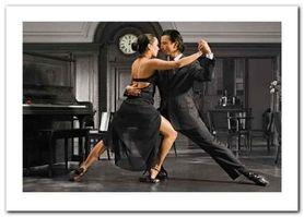 It Takes 2 To Tango plakat obraz 70x50cm