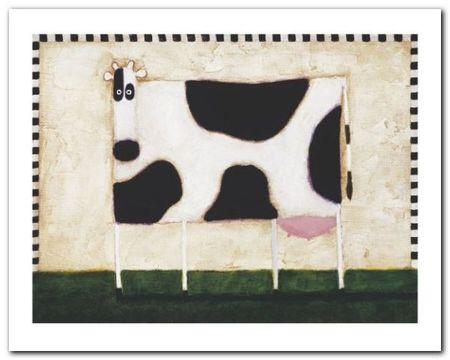 Spotted Cow plakat obraz 50x40cm (1)