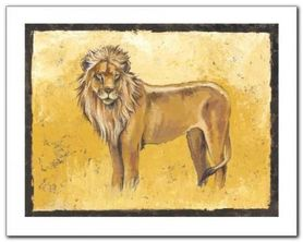 The Lion Stands Proud plakat obraz 50x40cm