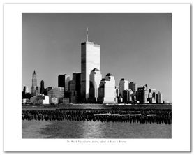 The World Trade Center plakat obraz 50x40cm