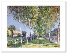 La Promenade plakat obraz 50x40cm