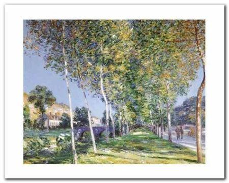 La Promenade plakat obraz 50x40cm (1)
