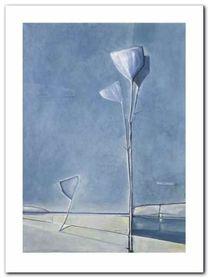 Rhapsody In Blue I plakat obraz 30x40cm
