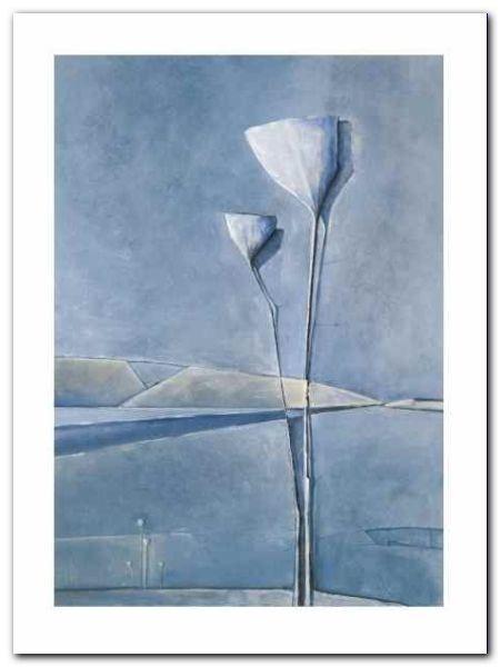 Rhapsody In Blue II plakat obraz 30x40cm (1)