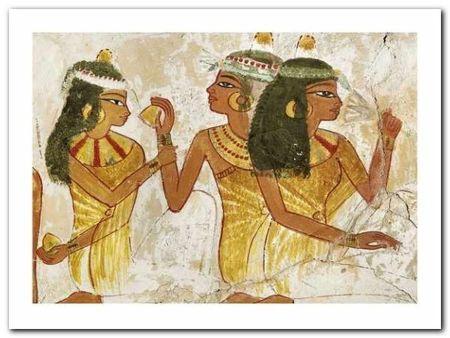 Fresco In The Tomb plakat obraz 40x30cm (1)