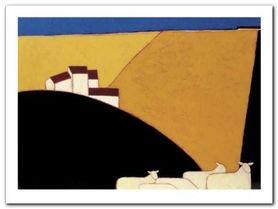 Tuscan Campagna plakat obraz 40x30cm