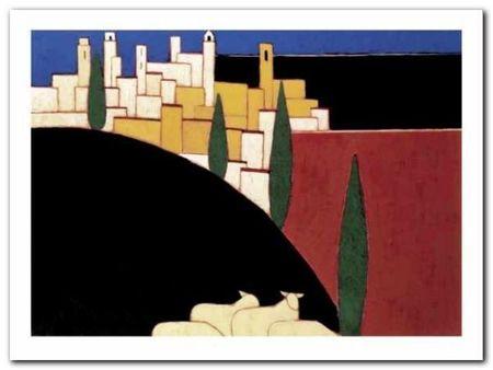 San Gimignano plakat obraz 40x30cm (1)