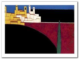 San Gimignano plakat obraz 40x30cm