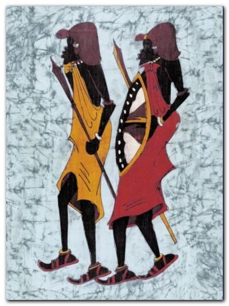 Lobatse III plakat obraz 30x40cm (1)