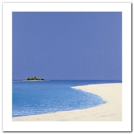 Island In The Sun I plakat obraz 60x60cm (1)