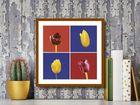 Four Tulips plakat obraz 30x30cm (3)