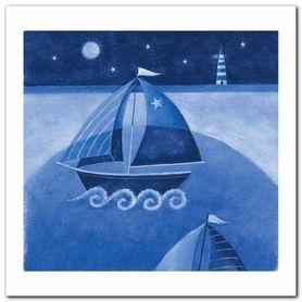 Sailing Boats plakat obraz 30x30cm