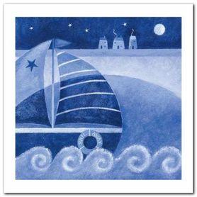 Sail Away plakat obraz 30x30cm