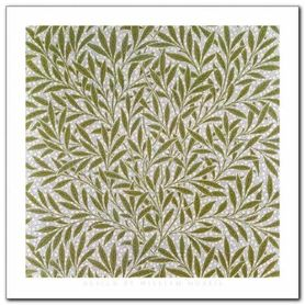 Willow Wallpaper Design plakat obraz 30x30cm