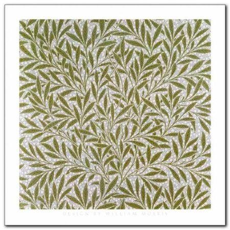Willow Wallpaper Design plakat obraz 30x30cm (1)