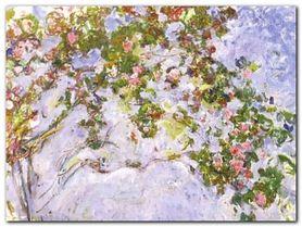 Les Roses plakat obraz 120x90cm