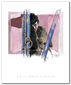 Musik Clown plakat obraz 50x60cm