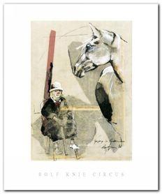 Gregory Im Kinderzirkus plakat obraz 50x60cm