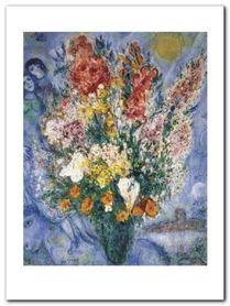 Le Bouquet plakat obraz 60x80cm