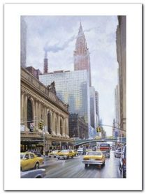 East 42Nd Street plakat obraz 60x80cm