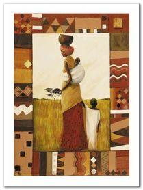Journez To Kariba Well plakat obraz 60x80cm