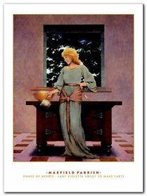 Lady Violletta plakat obraz 60x80cm
