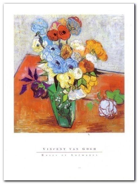 Rose plakat obraz 60x80cm (1)