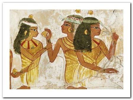 Fresco In The Tomb plakat obraz 80x60cm (1)