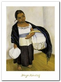 Nino Con Cesto plakat obraz 60x80cm