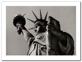 Liberty plakat obraz 80x60cm