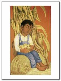 Nino Durmiendo plakat obraz 60x80cm