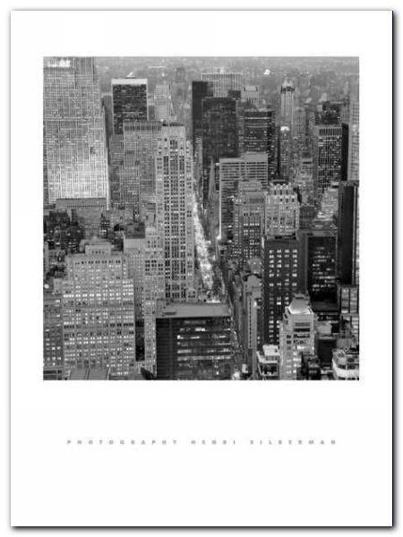 Fifth Avenue At Dusk plakat obraz 60x80cm (1)